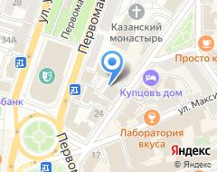 Компания Тройка Диалог на карте города