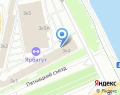 Компания МЕТРО-КАДАСТР на карте города