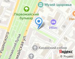 Компания Нотариус Шишкина О.В. на карте города