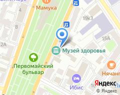 Компания МОСТ на карте города