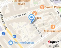 Компания Софрино Банк на карте города