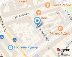 Компания Содружество на карте города