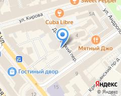Компания Финансы и Право на карте города