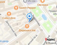 Компания АКБ Югра на карте города
