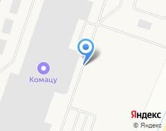 Компания Komatsu на карте города