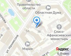 Компания Адвокатский кабинет на Нахимсона на карте города