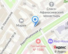 Компания Абарис на карте города