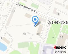 Компания Строящееся административное здание по ул. Центральная (Кузнечиха) на карте города