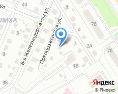 Компания Преображенский на карте города