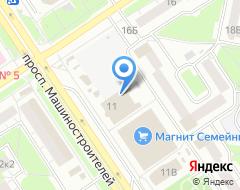 Компания Ярославские окна на карте города