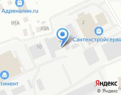 Компания Химтехпром на карте города