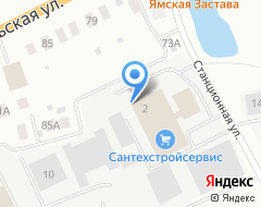 Компания Центр красок на карте города