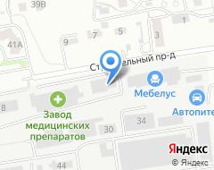 Компания КрасМаркет на карте города