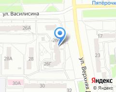 Компания Окна Калева на карте города