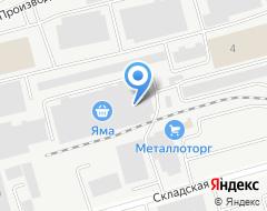 Компания ЛЭНД ПЛАСТ на карте города