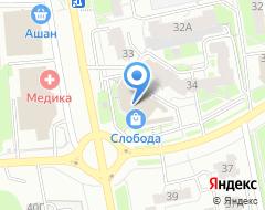Компания Кронос Крепёж Плюс на карте города