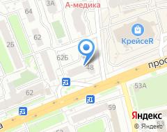 Компания Кадастр Плюс на карте города
