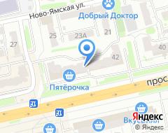 Компания Изомат-Гласс на карте города