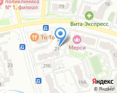 Компания Сантехмаркет на карте города