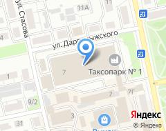 Компания Таксопарк на карте города