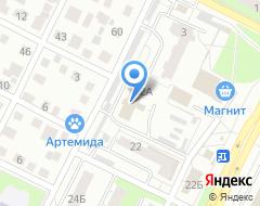 Компания Цербер-В на карте города