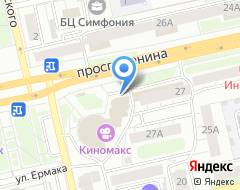 Компания Буревестник на карте города