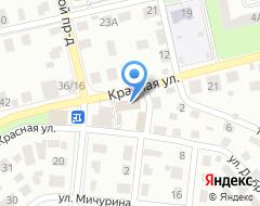 Компания ЦентрСтрой на карте города