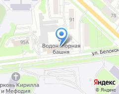Компания Владимирводоканал на карте города