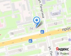 Компания Промальп 33 на карте города