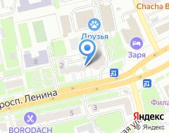 Компания ГУП Мунпроект на карте города