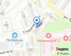 Компания Энергостройпроект на карте города