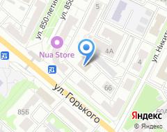 Компания СИТИ-ХАУС на карте города