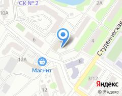 Компания Тритон-Офис на карте города