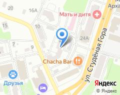 Компания Объект на карте города