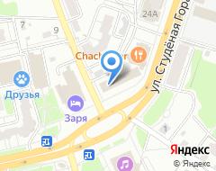 Компания Заря на карте города