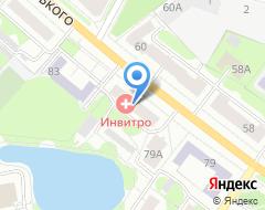 Компания Окна-Rehau на карте города