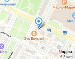Компания ТЭЗиСПроект на карте города