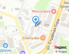 Компания Интерьерная компания Объект на карте города