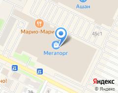 Компания Супермаркет недвижимости на карте города