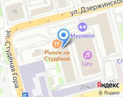 Компания ТеплоЭнергоСтрой на карте города