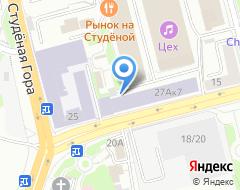 Компания ТехСтрой на карте города