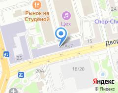 Компания ТЕХНNКА на карте города