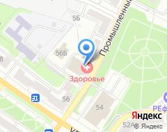 Компания Эко-Комфорт на карте города