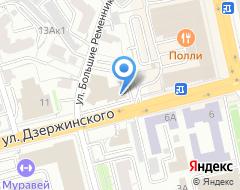Компания ИНТЕР КЕРАМИКА на карте города