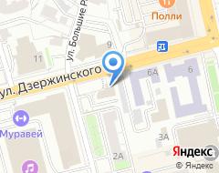 Компания АСТ на карте города