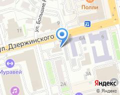 Компания АРТефакт на карте города