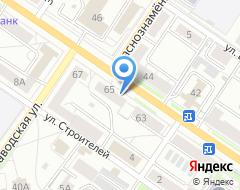 Компания Гольфстрим на карте города