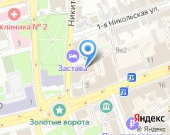 Компания Мономах на карте города