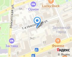 Компания Анкер-Комплект на карте города