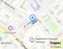 Компания ГЗК на карте города